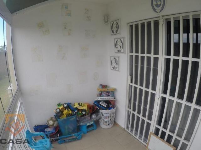 FM - Excelente apartamento 2 quartos térreo com fechamento de varanda - Praia da Baleia - Foto 5