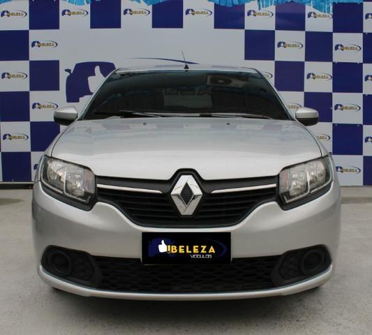 Renault Sandero, Único dono, GNV, completo
