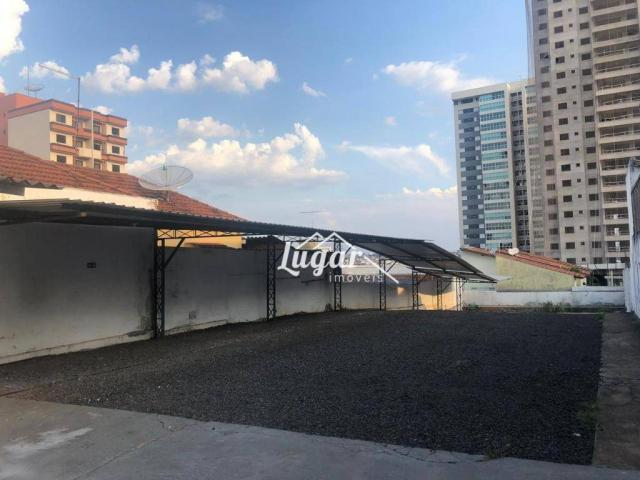 Terreno para alugar, 485 m² por r$ 2.200/mês - centro - marília/sp - Foto 3