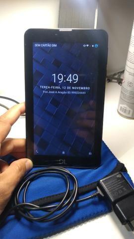 Tablet DL, 4GB, com cartão de 8GB, capa e carregador - Foto 2