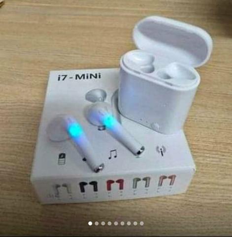 Fone Bluetooth I7 Original s/ fios - Foto 2