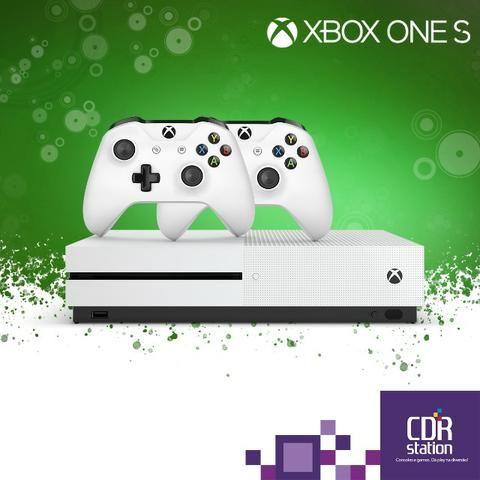 Xbox One S 1TB Com 2 Controles e 2 Anos de Garantia Modelo Novo