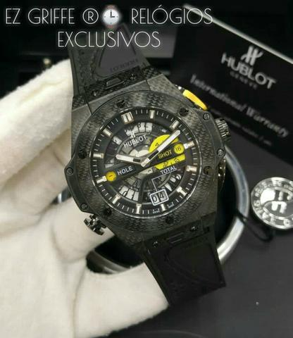 c6f3979118aa4 Hublot Exclusivos® Melhor Preço Consulte - Bijouterias, relógios e ...