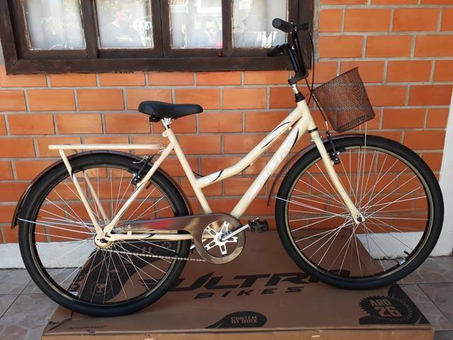 Promoção bicicleta ultra bike aro 26 modelo retrô - Foto 4