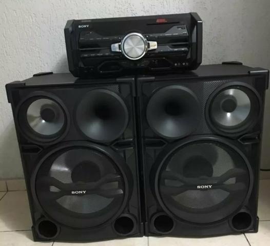 c7c1da919 Vendo mini system sony genezi - Áudio