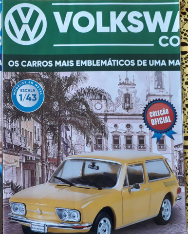 Miniatura Vw Collection VW Brasília 1974 + Fascículo - Foto 3