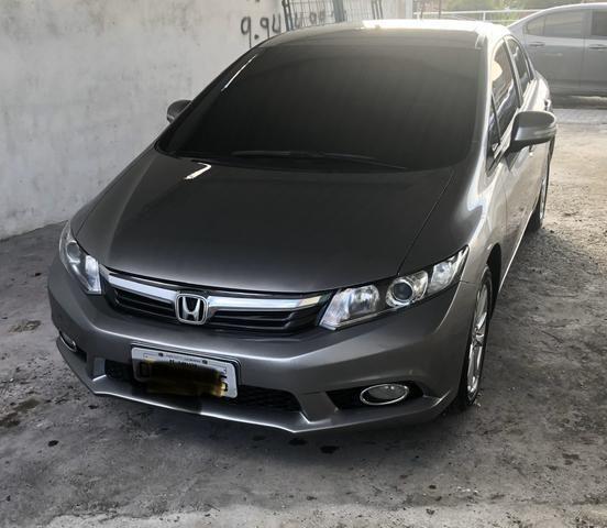 Honda civic LXR 2.0 2014/2014 Aut com Multimídia + IPVA 2020 Quitado