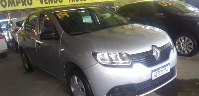 Renault logan completao novissimo com gnv - Foto 5
