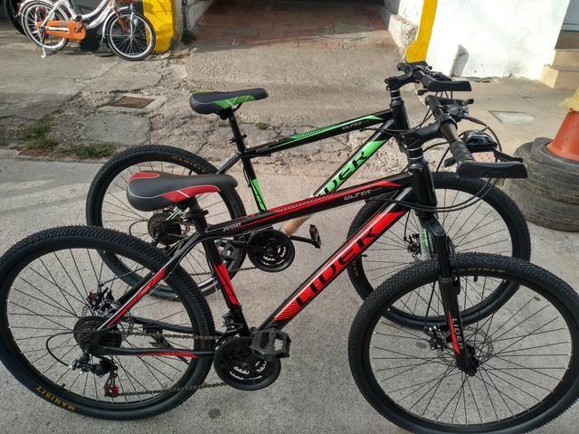 Promoção bike aro 26 zero completa - Foto 2