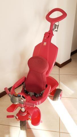 Triciclo Bandeirantes Rosa - Foto 2