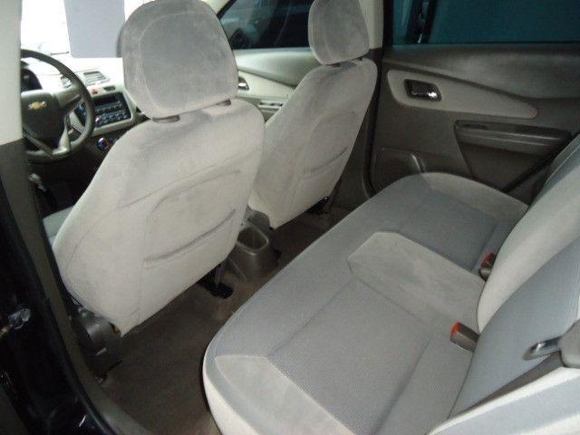 Chevrolet colbalt ltz 1.4 flex 102cv 4p ano 2012 preto - Foto 7