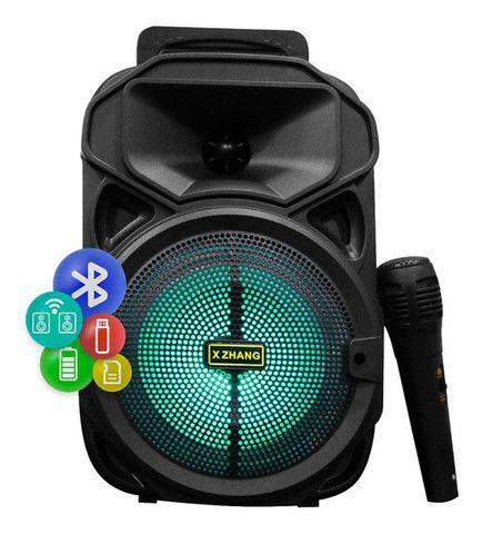 Caixa de Som Kamiso com microfone  - Foto 3