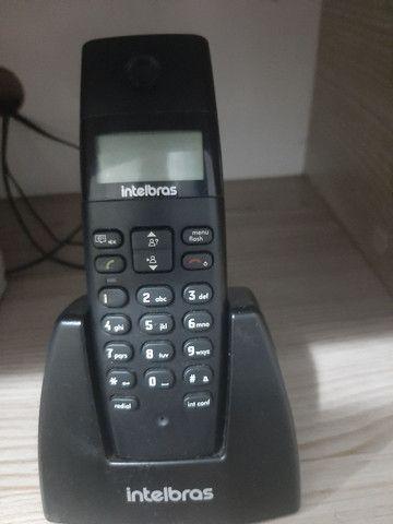 Telefone Sem Fio Intelbras TS40 ID - Foto 3