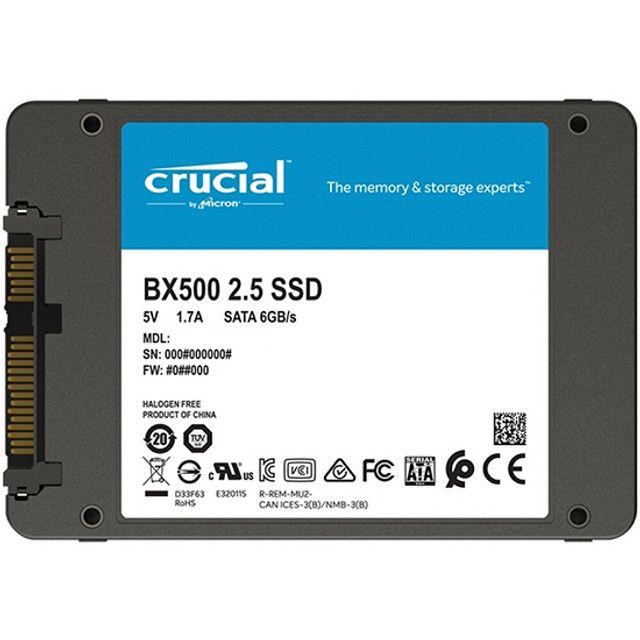 SSD de 480GB Crucial BX500 CT480BX500SSD1 540MB/s de Leitura -Novo Lacrado! - Foto 3