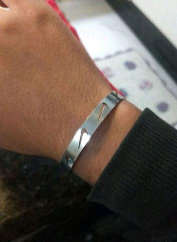 Anel e bracelete NIKE de INOX não perde cor - Foto 6