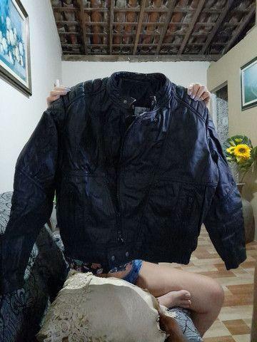 Jaqueta de couro N° 50 sem uso !