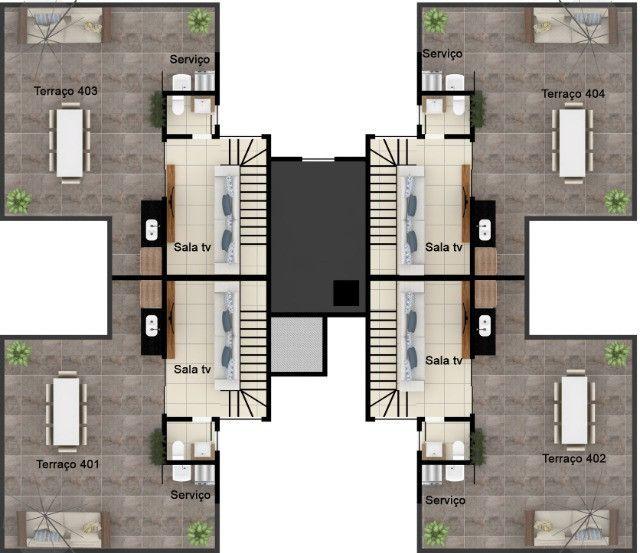 Oportunidade, apartamentos de 3 qtos com suíte e duas vagas no Santa Branca. - Foto 9