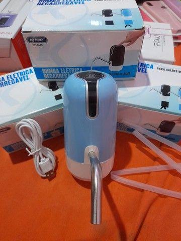 Bomba eletrica Recarregável para galões de água