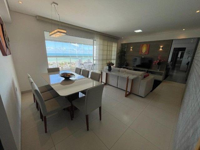 Ótimo apartamento no Residencial Alfredo Volpi, Bessa, 3 suítes + DCE, com linda vista  - Foto 5