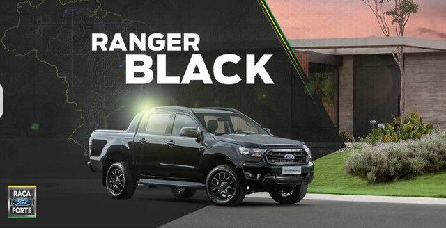 Ranger Black 2022 diesel AUT- entrega junho  - Foto 3