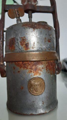 Lanterna de Carbureto antiga - Foto 2