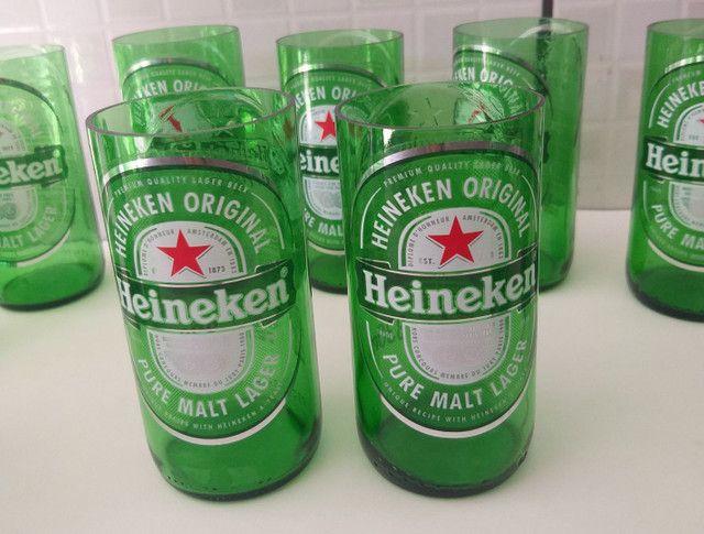 Copo de cerveja Heineken - Foto 3