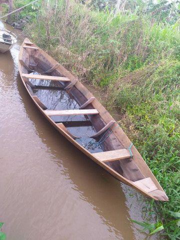 Vende-se essa canoua de 9 metros por 2 mil reais novinha nunca foi usada  - Foto 2