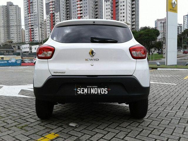RENAULT KWID ZEN 1.0 12V SCE Branco 2019/2020 - Foto 8