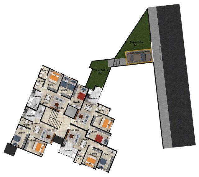Excelente apartamento de 2 e 3 quartos no melhor ponto do Caiçara. - Foto 11