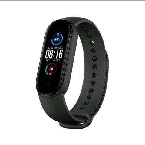 Smartwatch Original M5 Inteligente Banda Monitor Medidor De Freq Ncia Aca De Fitness - Foto 2