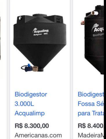Biodigestor Ecolimp 3000 litros Aqualimp  - Foto 3