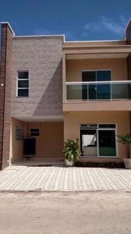 Casa em condomínio no Eusébio com 111 m²,3 quartos e 2 vagas de garagem