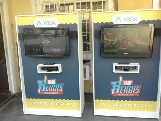 Xbox com Kinect para salão de festas
