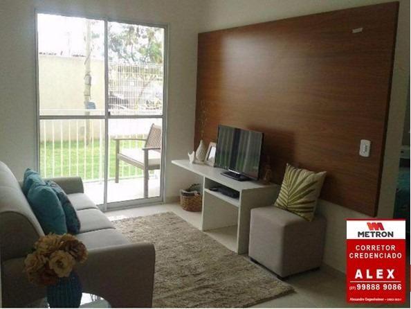 ALX - 18 - Mude para Morada de Laranjeiras - Apartamento de 2 Quartos com Varanda - Foto 11