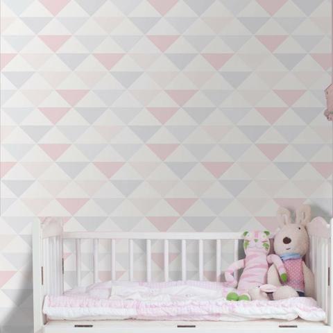 Papeis de parede triângulos geométricos - Foto 4