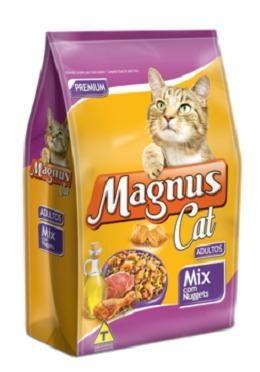 Ração Magnus Cat Mix com Nuggets - 25 kg