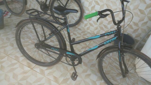 Vendo essa bicicleta ta tudo novo so hj - Foto 2