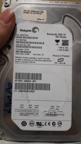 HDs Samsung 160GB
