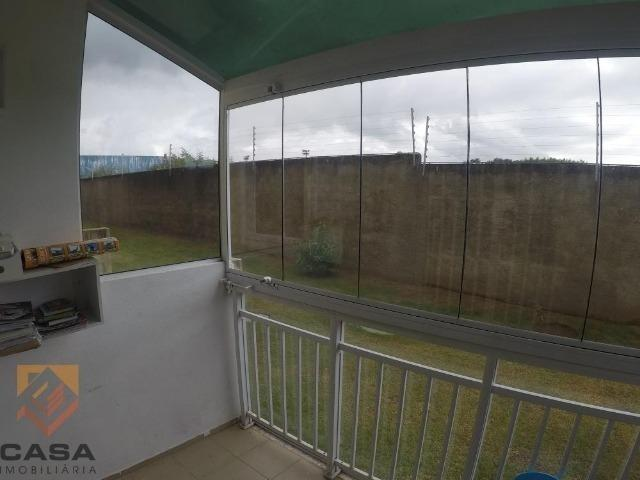 FM - Excelente apartamento 2 quartos térreo com fechamento de varanda - Praia da Baleia - Foto 11