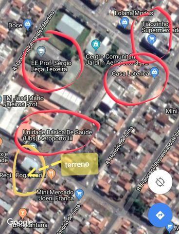 Terreno Aeroporto III ótima localização