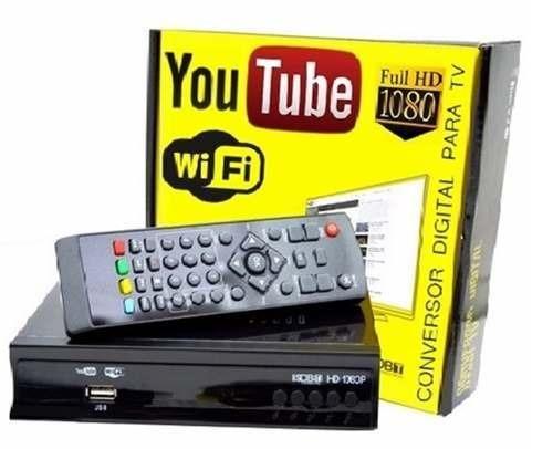 Conversor Digital de Tv com Wifi Youtube - Fazemos Entregas - Foto 2
