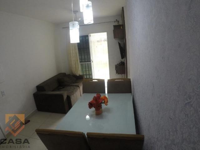 FM - Excelente apartamento 2 quartos térreo com fechamento de varanda - Praia da Baleia - Foto 9
