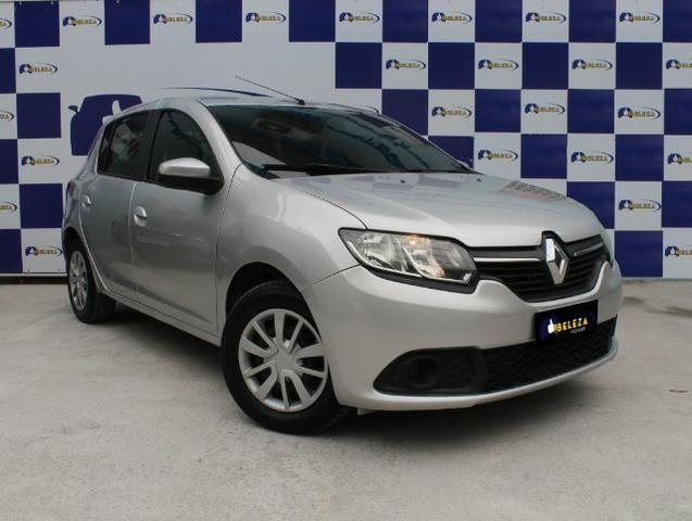 Renault Sandero, Único dono, GNV, completo - Foto 3
