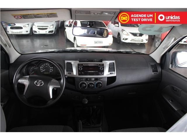 Toyota Hilux 2.7 std 4x4 cd 16v flex 4p manual - Foto 7