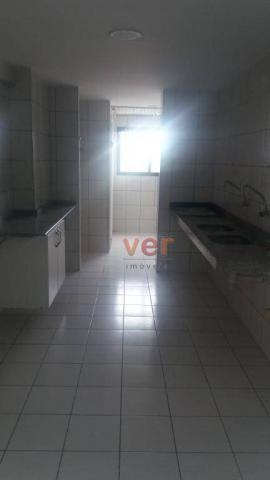 Apartamento com 3 dormitórios para alugar, 112 m² por R$ 1.450/mês - Engenheiro Luciano Ca - Foto 14