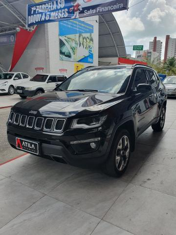 Jeep compass 2019 logitude diesel 4x4 9 mil km rodado unico dono extra!!!