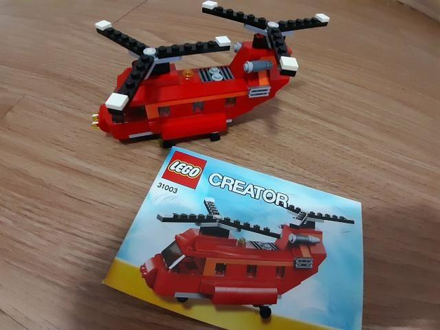 Helicóptero Lego