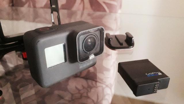 Câmera Gopro Hero5 Black 4k + Cartão Sd 64gb + Bateria Extra