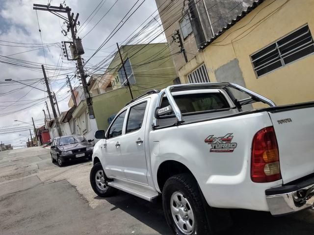 Hilux 2008 D4D turbo diesel só 53,000 - Foto 5