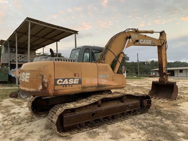 Escavadeira Hidráulica Case CX 220 - 2006 - Foto 4